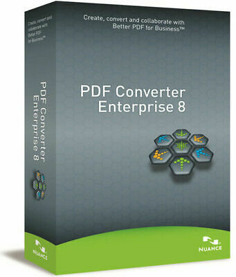 Nuance PDF Converter Enterprise 8.2 Activation Key & Download Link, Full Version