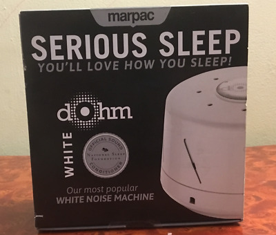 Marpac Dohm Orginal White Soothing Natural Classic White Noise Sound Machine