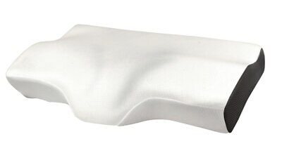 Bamboo Contour Cervical Pillow Neck Back Spine Support Cover Memory Foam
