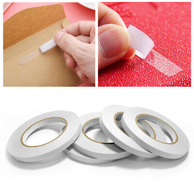 Supplies Clear Sealing Sticky Strip Fastener Tapes Adhesives Tape Double Sides