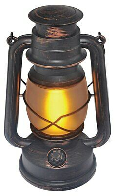 LED Vintage Flickering Flame Outdoor Lantern Battery Dimmer Eco-Friendly