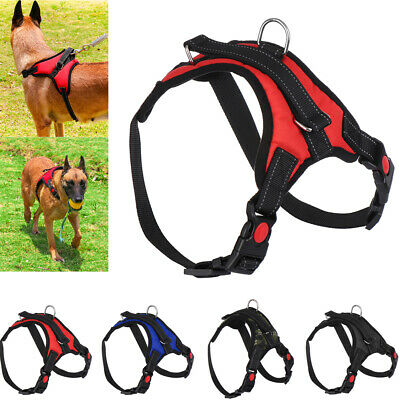 Saddle Shape No Pull Pet Harness Chest Strap Lead Walking Dog Vest Collar