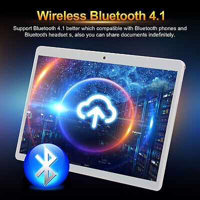 10.1 inch HD Tablet PC Ten-Core Android8.0 Bluetooth WIFI/4G 8+128G 2 SIM/Camera