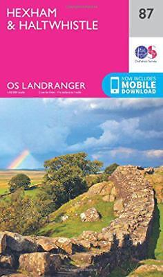 Landranger (87) Hexham & Haltwhistle (OS Landranger Map) by Ordnance Survey, NEW