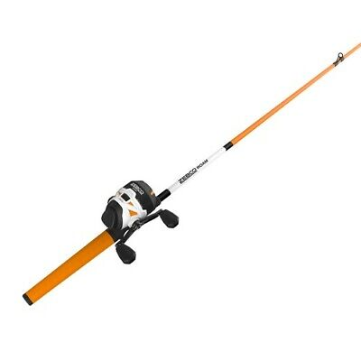 ZEBCO ZR33 SPINCAST 6/' TELESCOPING Fishing Combo Rod and Reel NEW #ZR33605MTEL