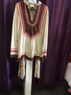 """Deluxe Gents Indian Brave Costume 46"""""""