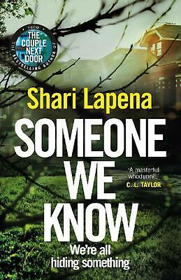 Someone We Know by Shari Lapena Hardcover Book Free Shipping!