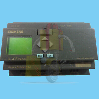 1Pc Used PLC LOGO! 24RCL Siemens 6ED1 053-1HB00-0BA2 Tested It In Good Condition