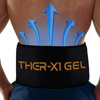 Back Pain Cold Reusable Ice Pack Belt Therapy For Lower Lumbar Sciatic Nerve...