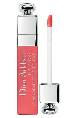 Dior Addict Lip Tattoo Long Wear Colored Tint 451 Natural Coral  Nwb