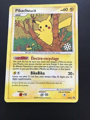Carte Pokemon Pikachu Promo Dp16 Flocon De Neige !