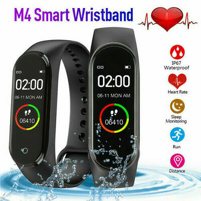 GLOBAL VERSION for Xiaomi Mi Band 4 Smart Watch Wristband Amoled Bluetooth UK