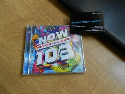 Now That's What I Call Music   103...2Cds