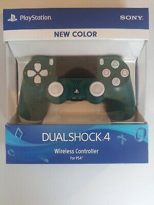 Brand New Sony Playstation4 Dual Shock 4 Wireless Controller Alpine Green. Rare!
