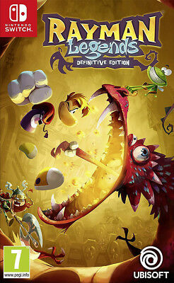 Rayman Legends - Definitive Edition (Interrupteur) Neuf et Scellé - Import