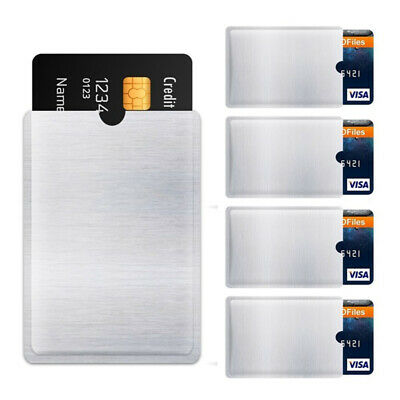 Foil Credit Cards RFID Blocking Protect Case Cover Sleeve Wallet Card Holder