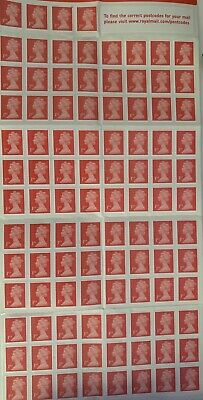 100 1st Class Stamps Royal Mail First Class Stamps Brand New