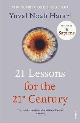 21 Lessons for the 21st Century by Yuval Noah Harari Paperback Book Free Shippin