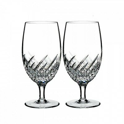 Waterford Crystal Essentially Wave Iced Beverage Glasses, Set of 4