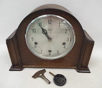 Vintage SMITHS ENFIELD Wooden Mantle Clock - Spares/Repairs - CA5