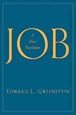 Job: A New Translation by Edward L. Greenstein Hardcover Book Free Shipping!