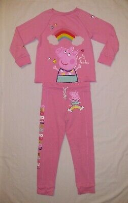 Peppa Pig Girls Top and Bottoms Outfit | Kids Size UK 6-7 Years