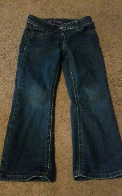 Girl's Mini Boden Bootcut Jeans Size 4Y