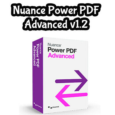 Nuance Power PDF Advanced v1.2 Edit, Secure PDF documents, Fast Delivery