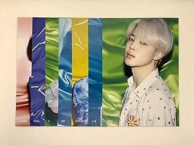 BTS FLYER Full Set of 7 TOWER RECORDS SHIBUYA Limited Lights Boy With Luv