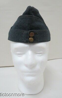 Original Wwii British Royal Air Force Raf Overseas Cap Hat Size 7 Approx