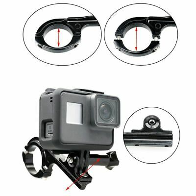 New Aluminum Bike Handlebar Motorcycle Mount Bar Adapter for GoPro Hero 7 5 6
