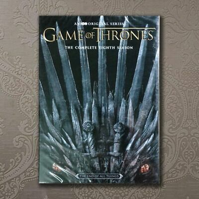 Game Of Thrones:The Complete Season 9 (DVD, 2019, 3-Disc) Sophie Turner  NEW