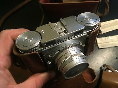 Braun Paxette Prontor S vintage collectable camera