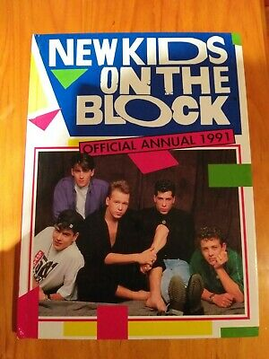 New kids on the block vintage book. 1991 Annual.