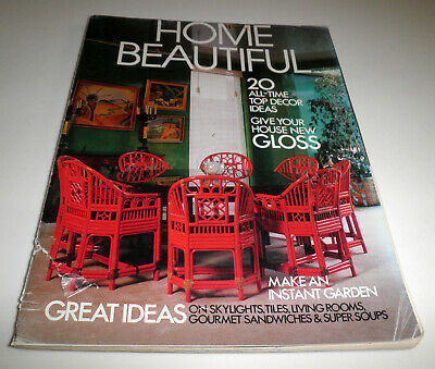 May 1988 Vint Aust Home Beautiful Mag–Skylights,Tiles,Solar Living,Waterbeds