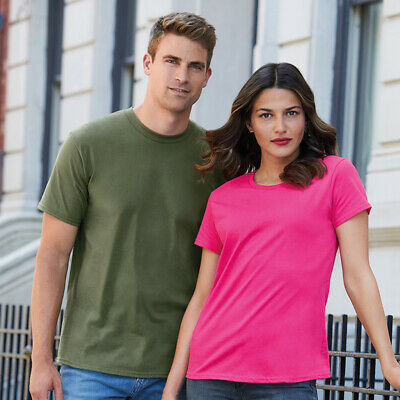 Gildan Premium Cotton Mens T-Shirt - 4100 - GD008 - Round Neck Plain Soft Tee