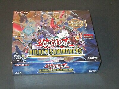 Yu-Gi-Oh Hidden Summoners Booster Box 1st Edition - Factory Sealed Fast Ship!!