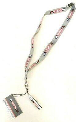 Sky Sports F1 Lanyard with Removable ear  Defenders attached