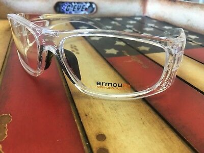 Prescription Safety Glasses ArmouRx 6001 ANSI/CSA Compliant. Option To Add RX