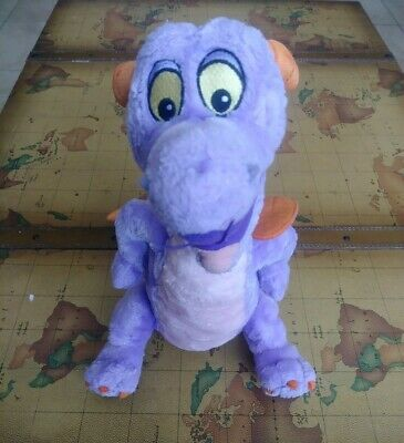 "Disney Parks FIGMENT Epcot Purple Dragon 15"" Plush Imagination Institute"