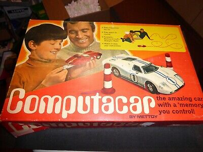 Mettoy vintage mint/box COMPUTERCAR Chevrolet Astrovette pristine Top 70ies