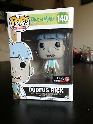 funko pop rick and morty Doofus Rick