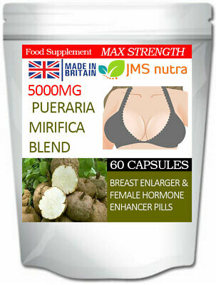 Breast Enlargement Bigger Boobs Enhancement pills Pueraria Mirifica Blend 5000mg