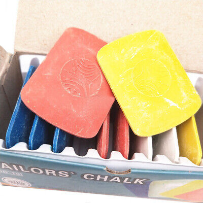 Patchwork Markers Colorful  Tailors Erasable  Fabric Chalk Sewing Dressmaker
