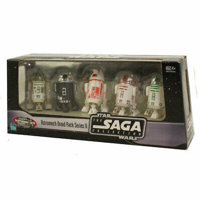 Star Wars Action Figure Set -The Saga Collection -ASTROMECH DROID PACK SERIES II