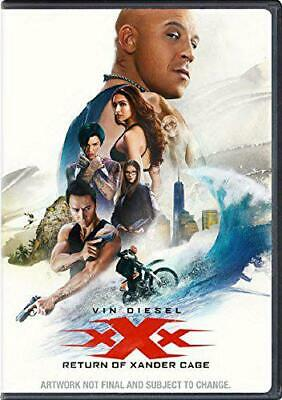 XXX: The Return Of Xander Cage (DVD + Digital Download) [2017], New, DVD, FREE &