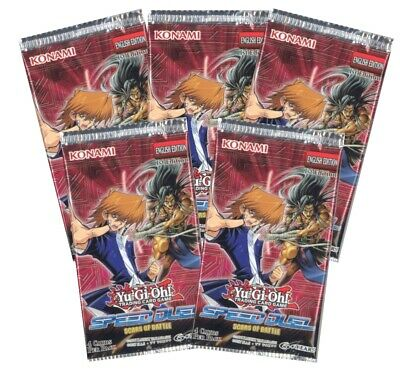 Yu-Gi-Oh Cards - Speed Duel: Scars of Battle - Booster PACKS (5 pack lot) - New