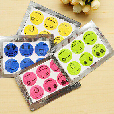 60pcs Mosquito Repellent Stickers Anti-Toxic Natural Patches Insect Bug Repeller