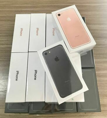 NEW Apple iPhone 7 32GB 128GB Factory Unlocked Smartphone 1Yr Wty Sealed Box UK