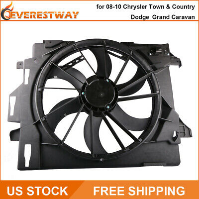 Radiator Cooling Dual Fan Assembly for Grand Caravan T /& C